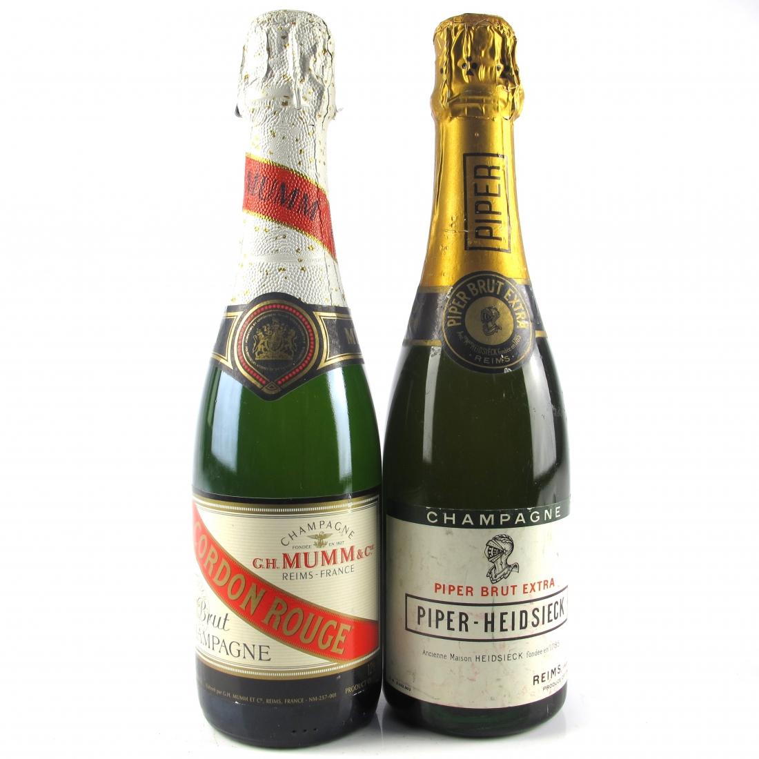 Piper Heidsieck & Mumm Cordon Rouge Brut NV Champagne 2x37.5cl