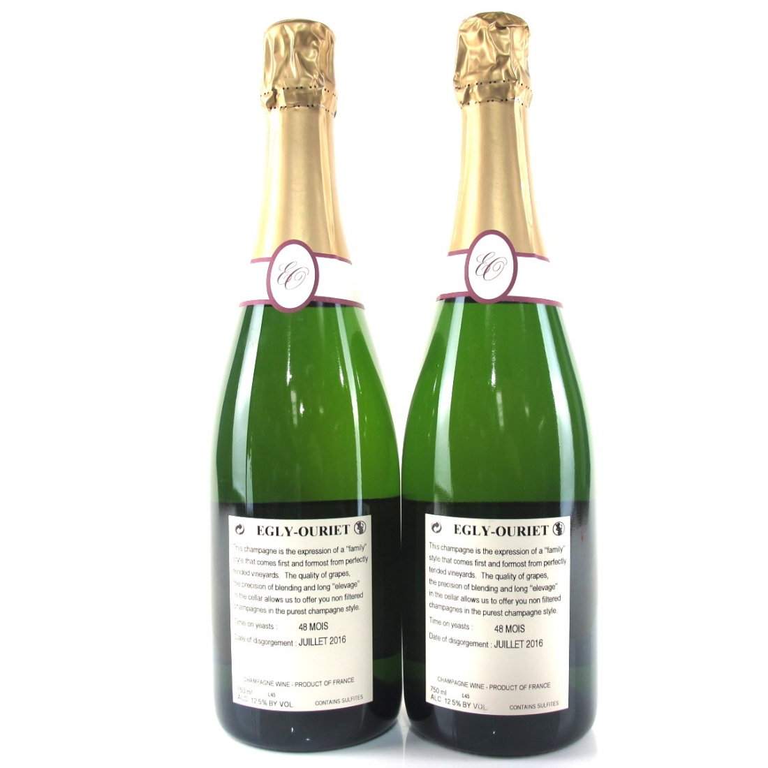 Egly-Ouriet Brut Tradition Grand Cru NV Champagne 2x75cl