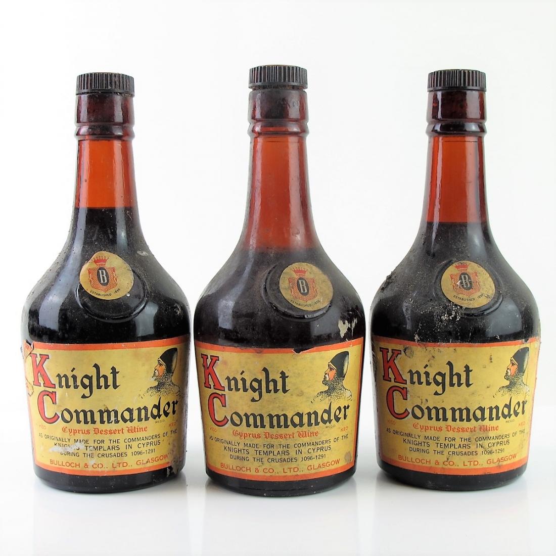 Knight Commander Dessert Wine 3x37.5cl
