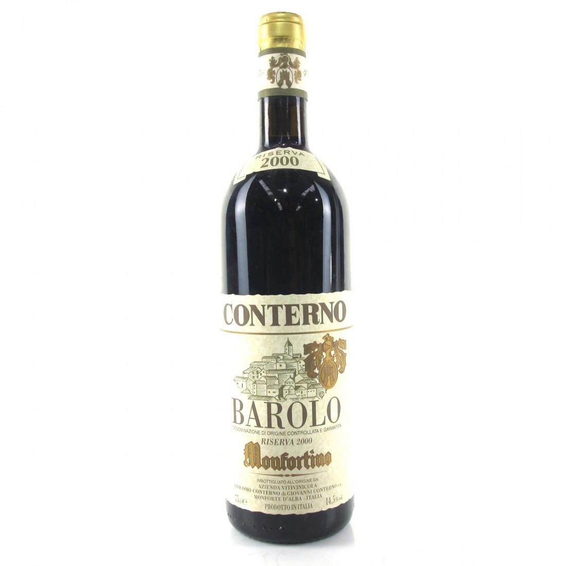 Conterno 2000 Barolo Riserva