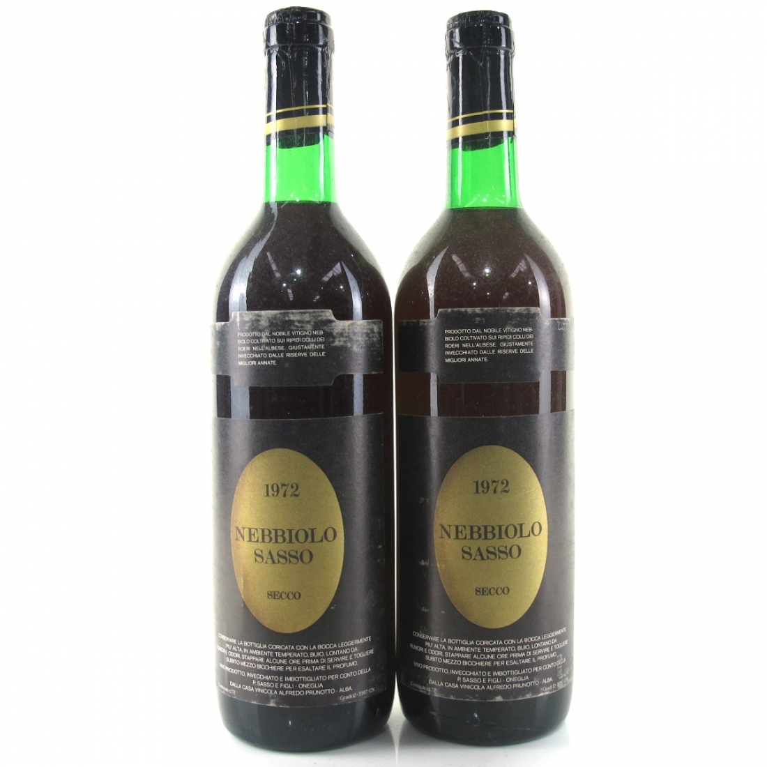 Prunotto 1972 Nebbiolo 2x75cl