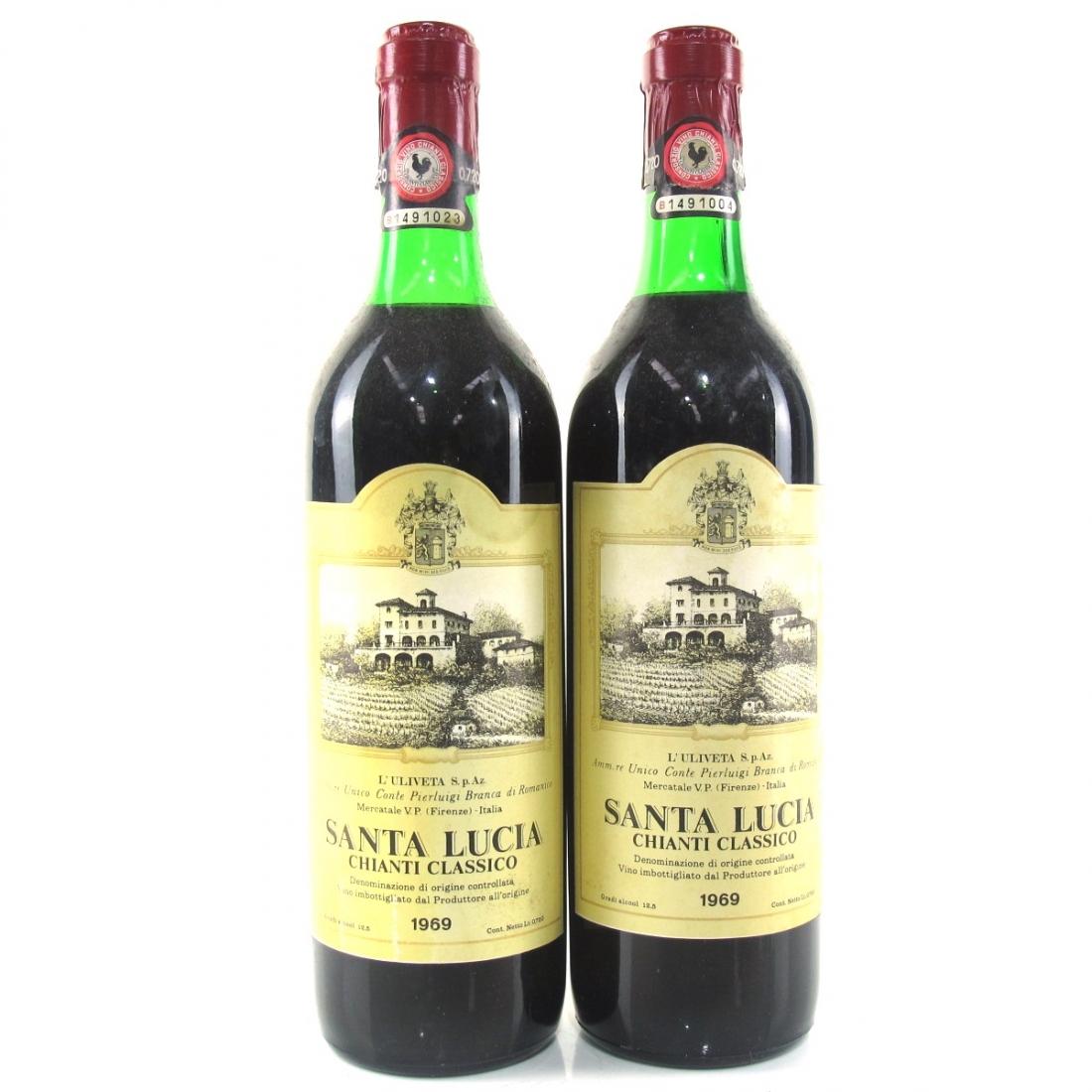 Santa Lucia 1969 Chianti Classico 2x75cl