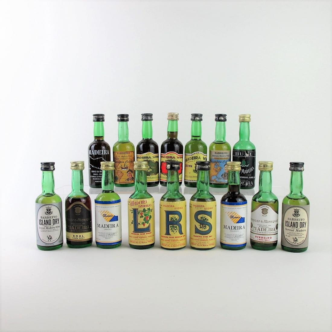 Selection of Madeira Miniatures 16x5cl