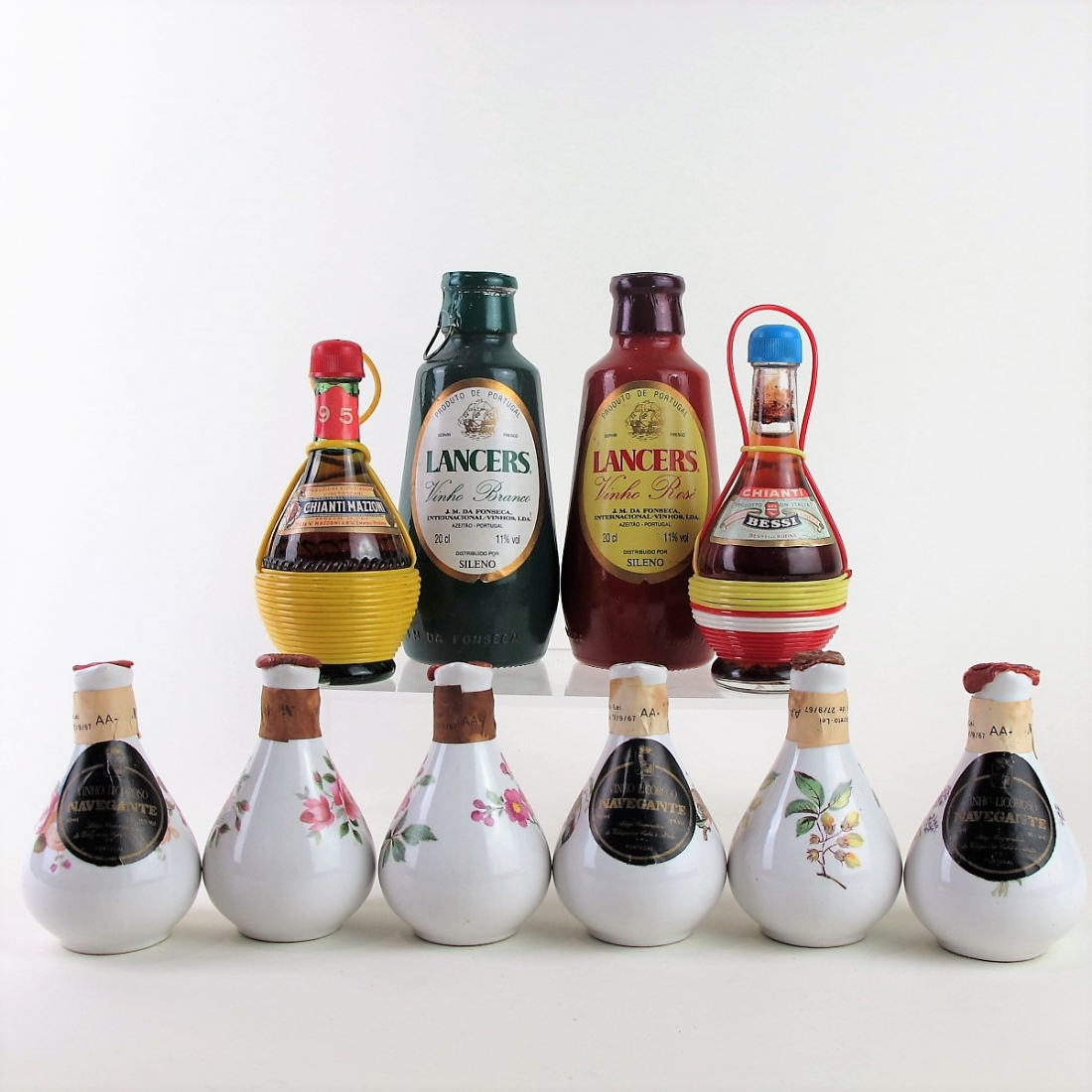 Selection of Wine Decanter Miniatures