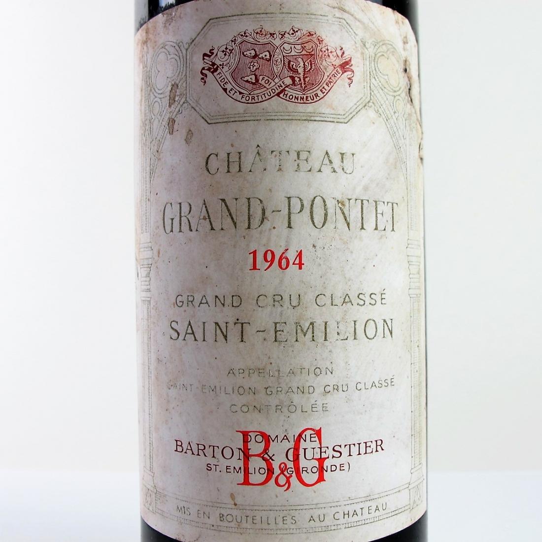 Ch. Grand-Pontet 1964 Saint-Emilion Grand Cru