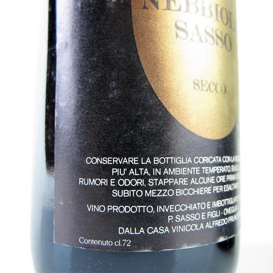 Prunotto 1972 Nebbiolo 2x75cl