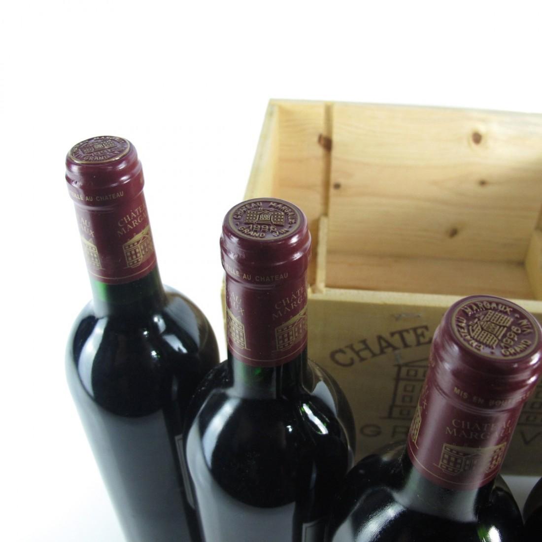 Ch. Margaux 1996 1er-Cru 6x75cl / Original Wooden Case