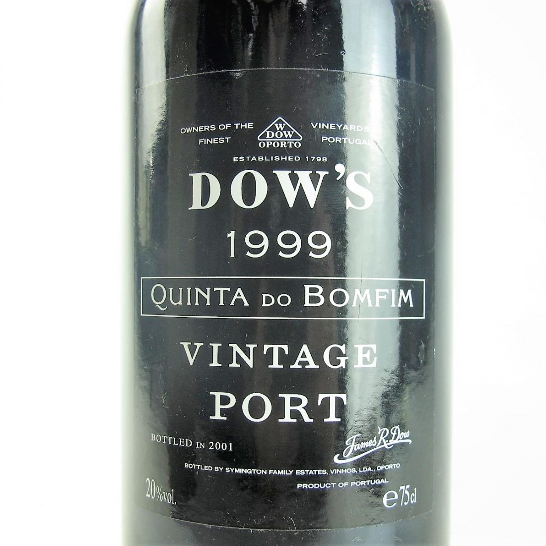 Dow's Quinta Do Bomfim 1999 Vintage Port