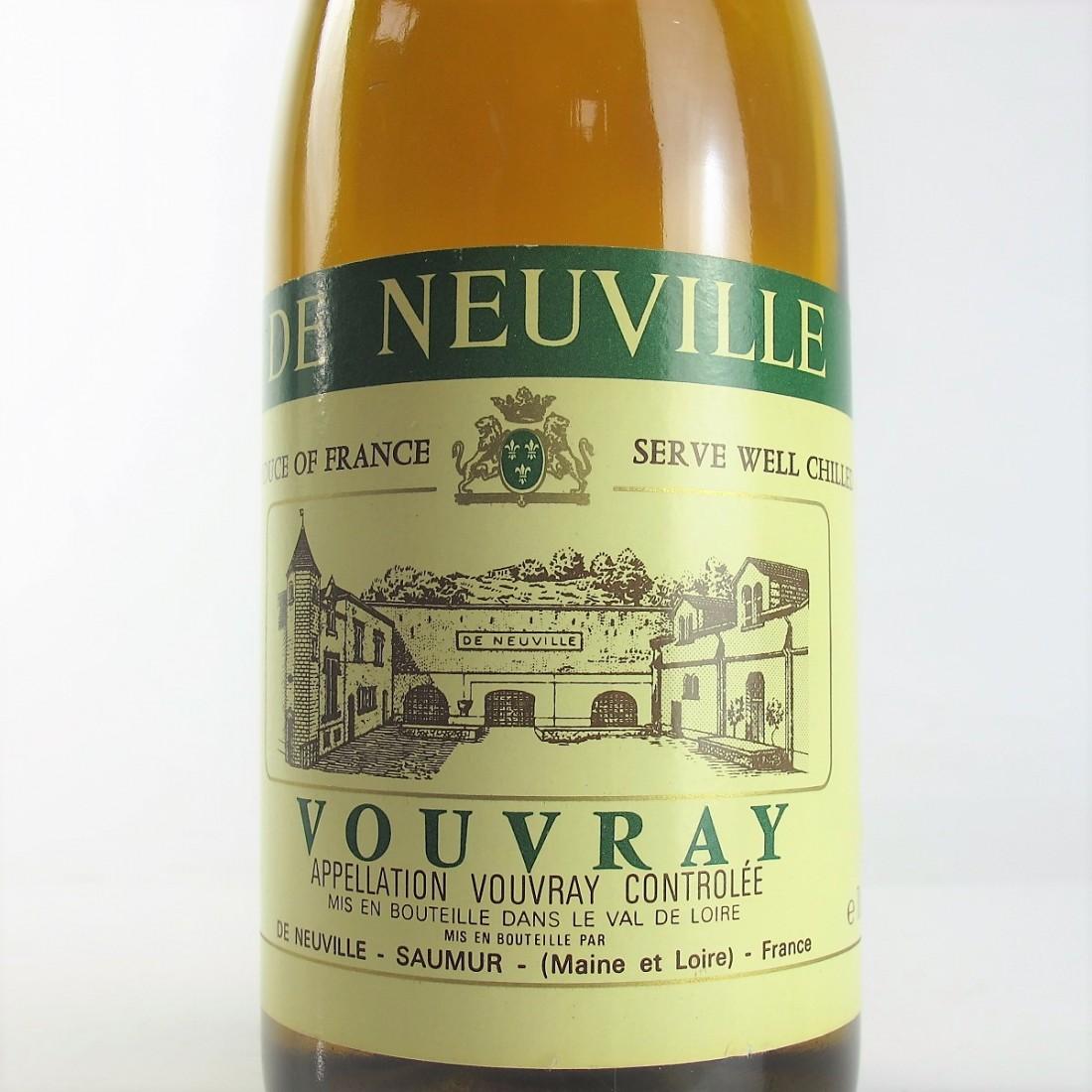 De Neuville 1986 Vouvray