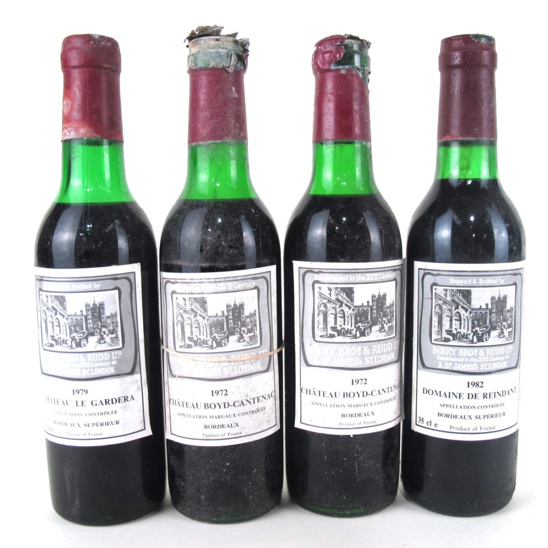 Berry Brothers & Rudd Bordeaux 4x35cl