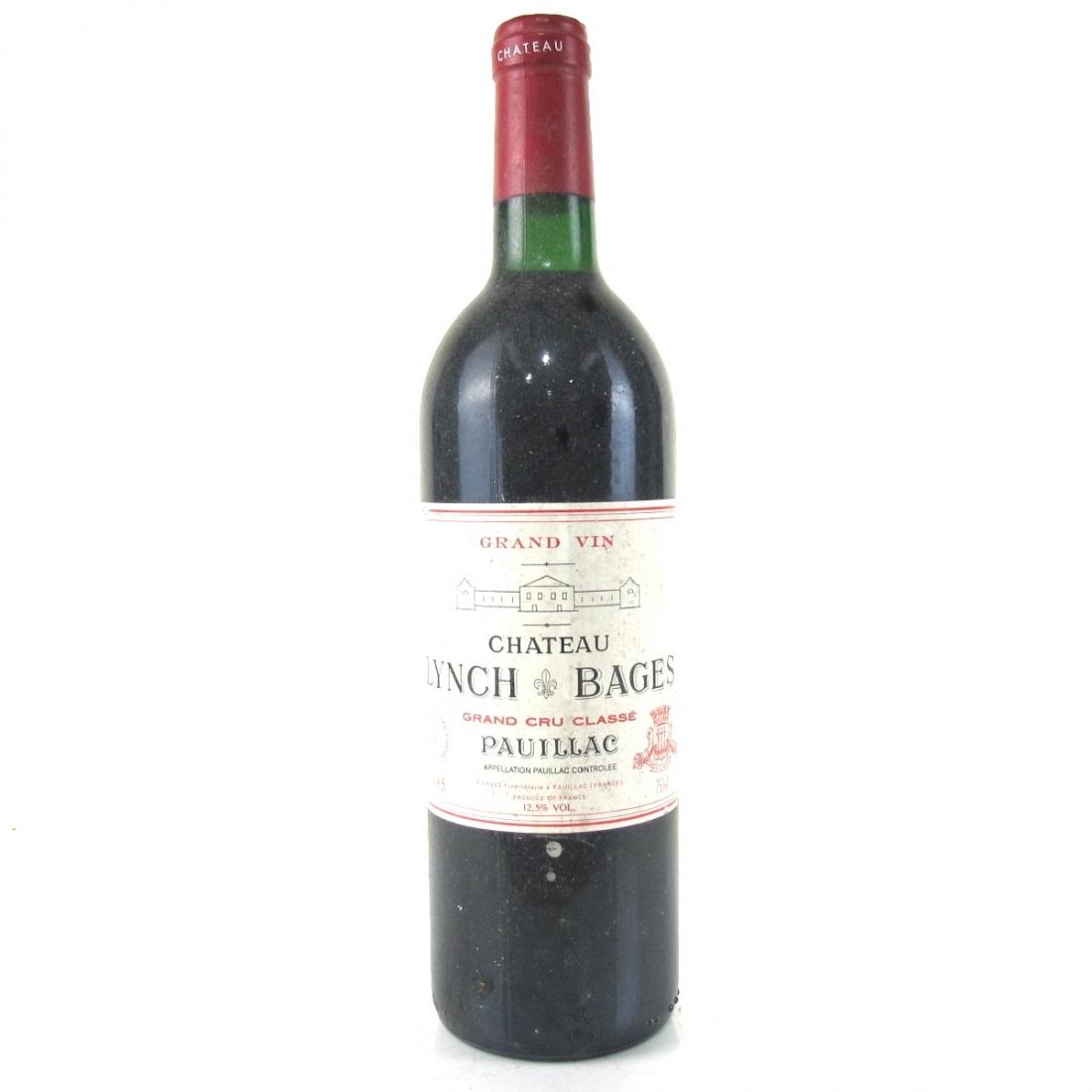 Ch. Lynch-Bages 1985 Pauillac 5eme-Cru