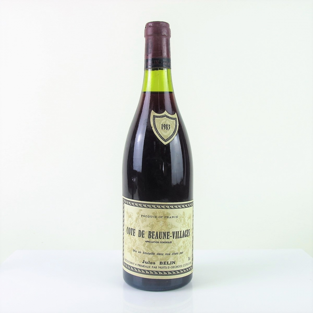 J.Belin 1983 Côte-de-Beaune