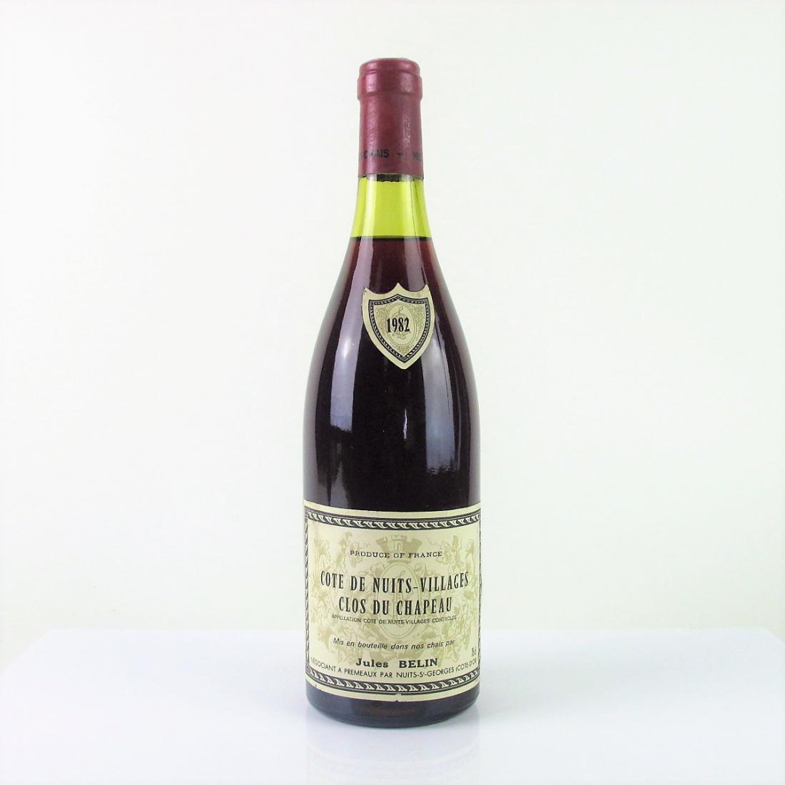 J.Belin 1982 Côte-de-Nuits-Villages