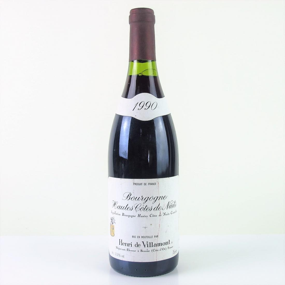 Villamont 1990 Hautes-Côte-de-Nuits
