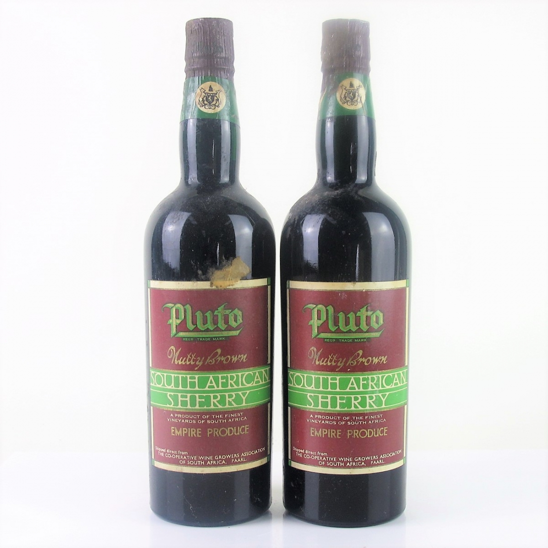 Pluto Nutty Brown Sherry 2x75cl