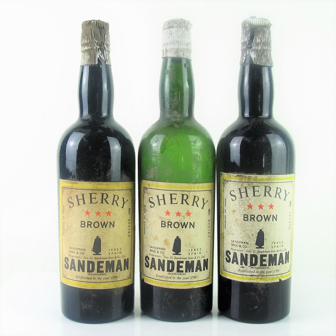 Sandeman 3 Star Brown Sherry 3x75cl