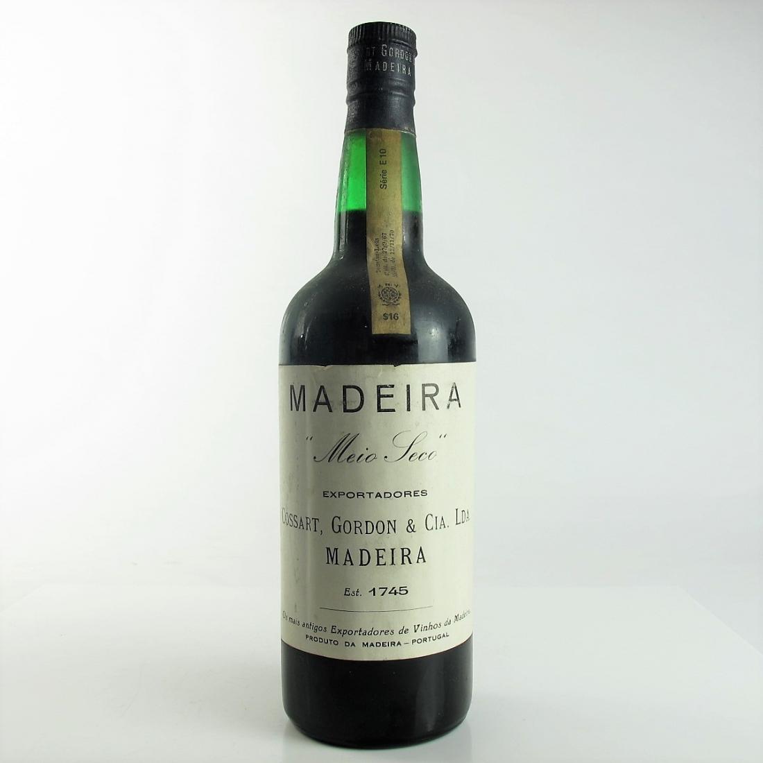 Cossart, Gordon & Cia Meio-Seco Madeira