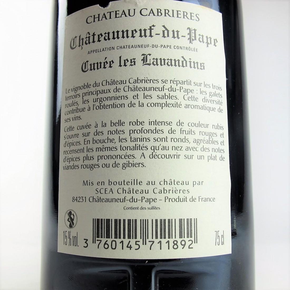 Ch. Cabrieres 2011 Chateauneuf-Du-Pape
