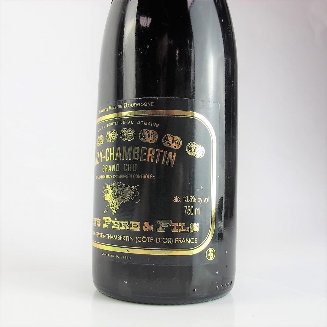 Camus Pere & Fils 2001 Mazy-Chambertin Grand-Cru