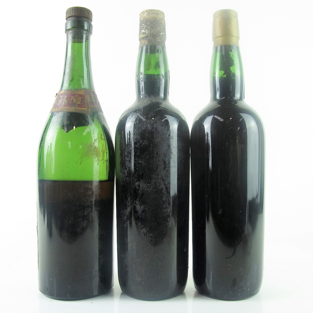 Various Old Cream Sherry 3x75cl