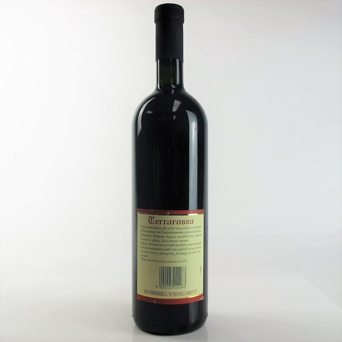 Pichierri Primitivo di Manduria 1998 Puglia