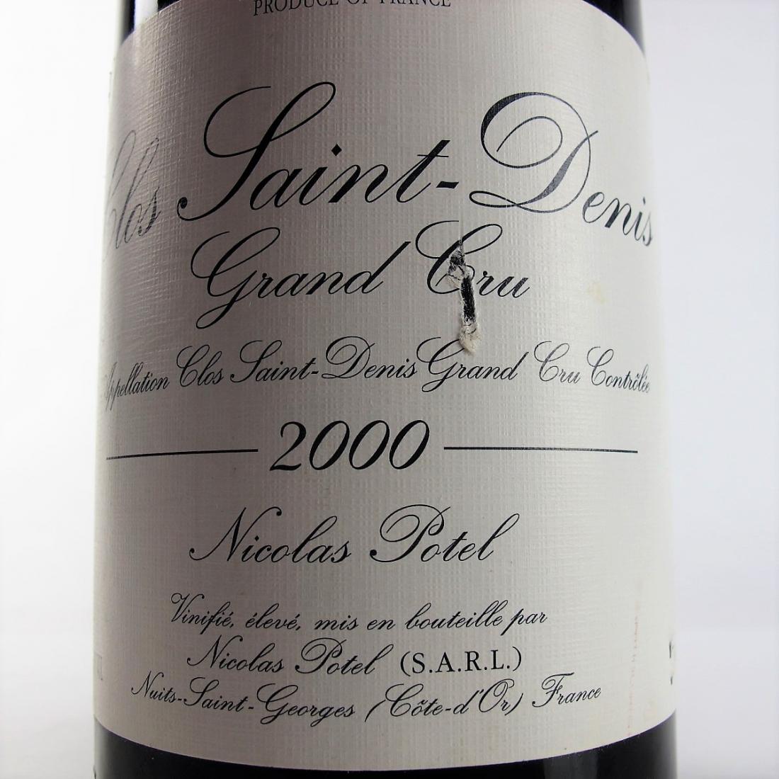 N.Potel 2000 Clos Saint-Denis Grand-Cru