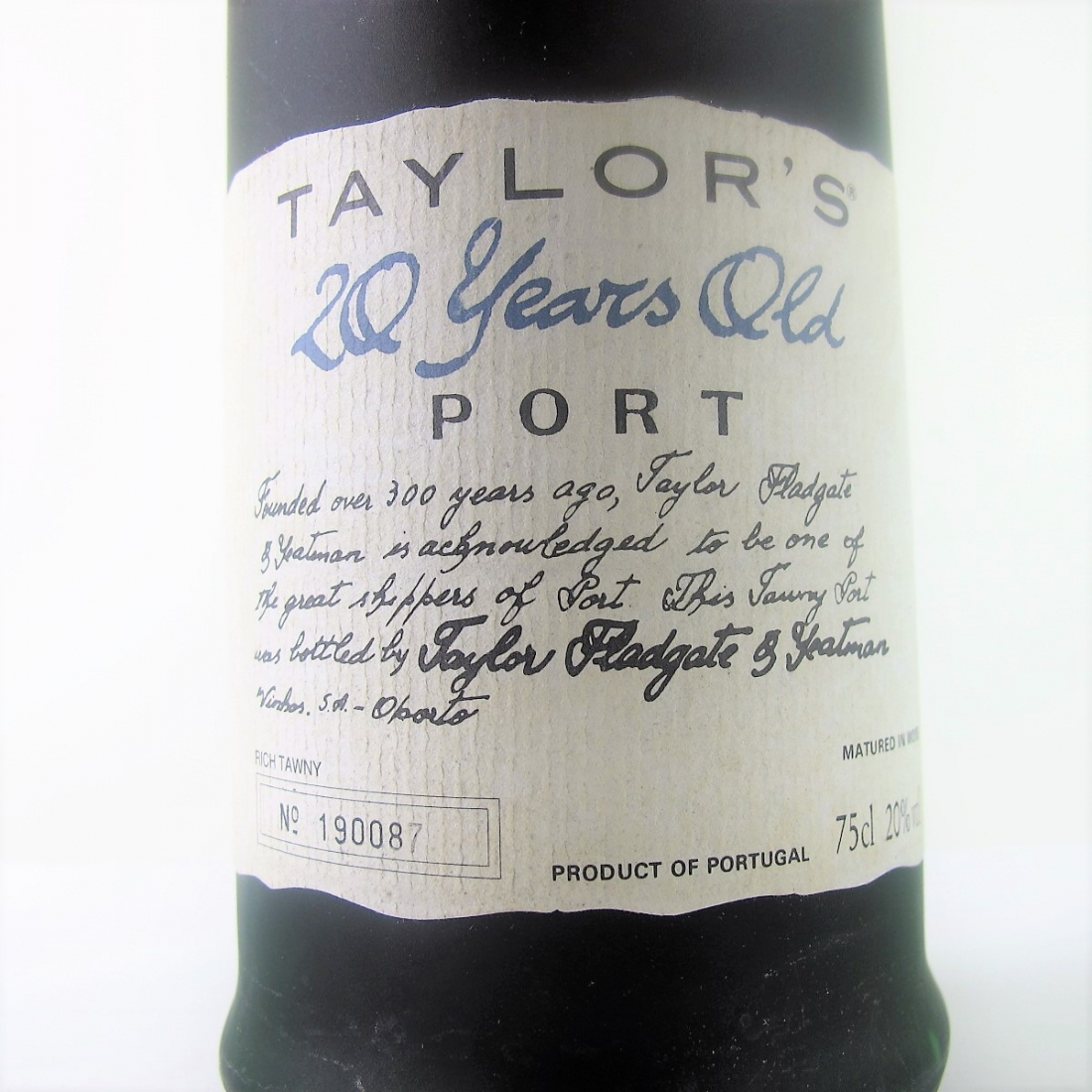Taylor's 20 Year Old Tawny Port