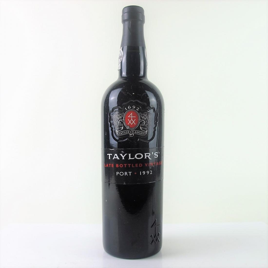 Taylor's 1992 LBV Port