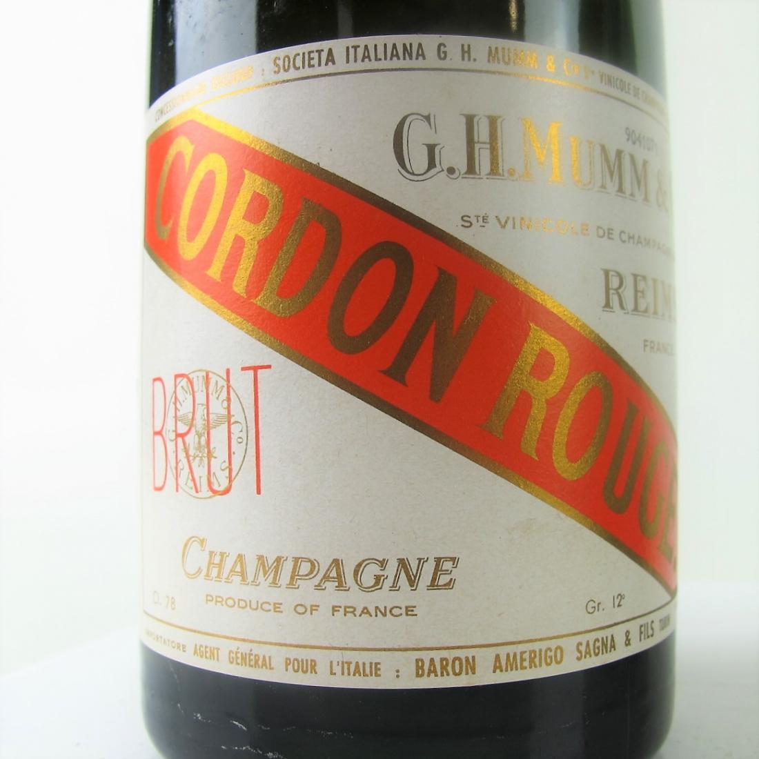 Mumm Cordon Rouge Brut NV Champagne 2x78cl