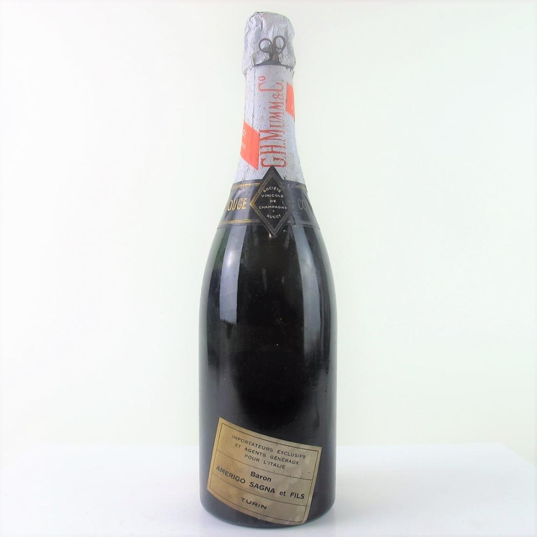 Mumm Cordon Rouge 1959 Vintage Champagne