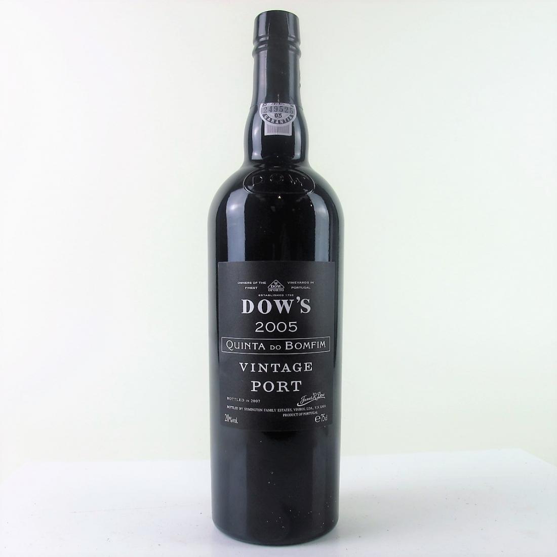 Dow's Quinta Do Bomfim 2005 Vintage Port