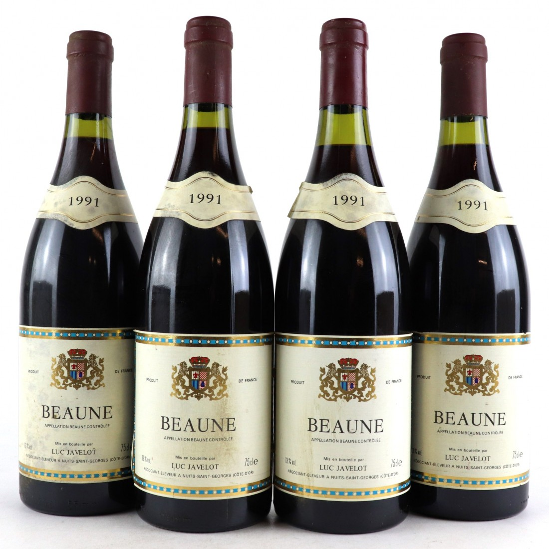 L.Javelot 1991 Beaune 4x75cl