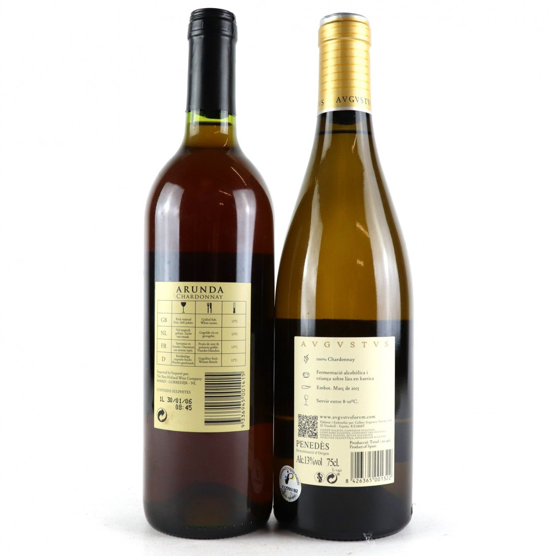 Assorted Chardonnay 2x75cl