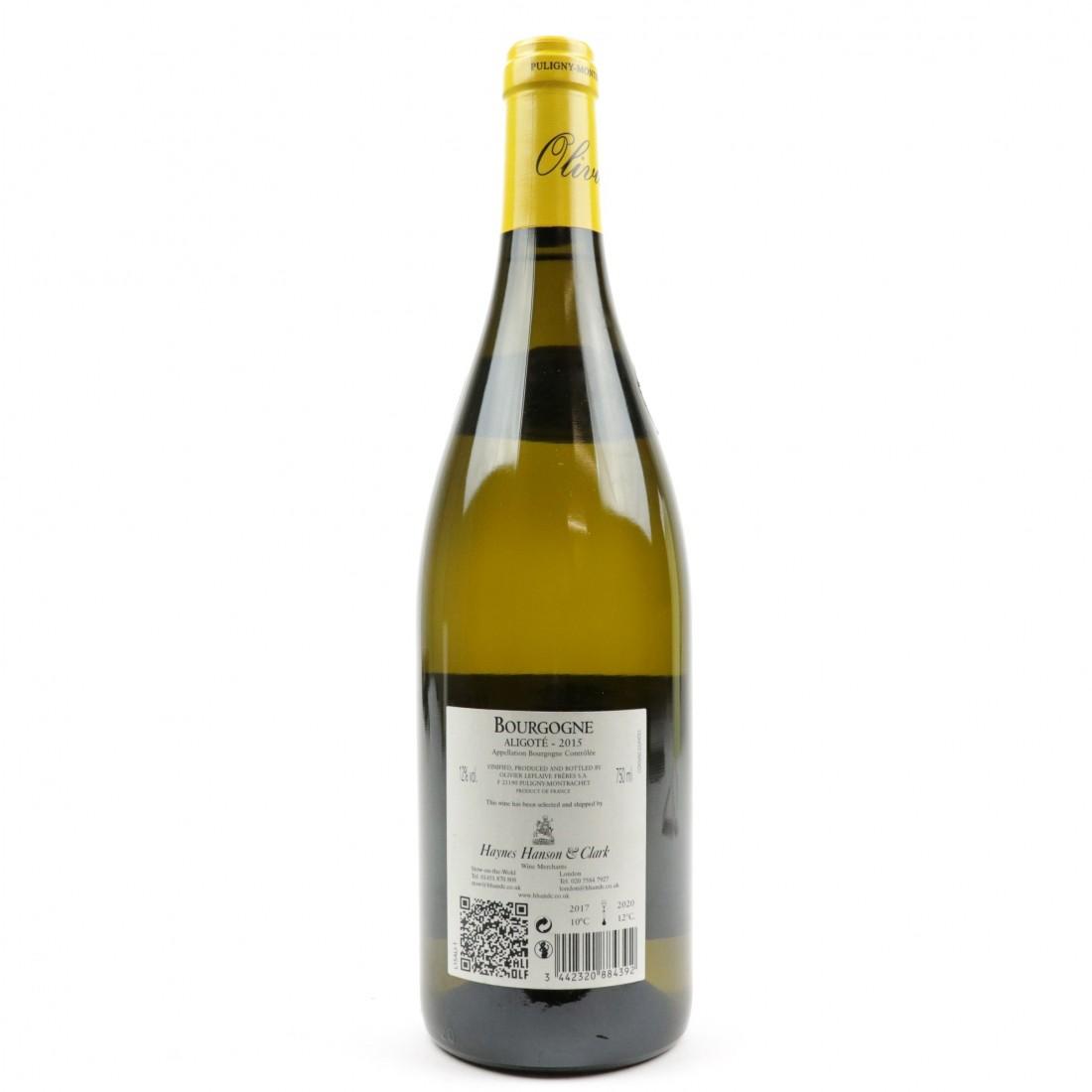 O.Leflaive Aligote 2015 Bourgogne