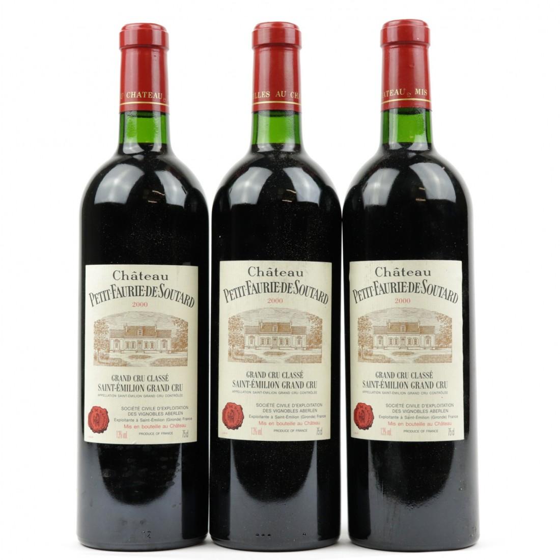 Ch. Petit Faurie de Soutard 2000 St-Emilion Grand Cru 3x75cl