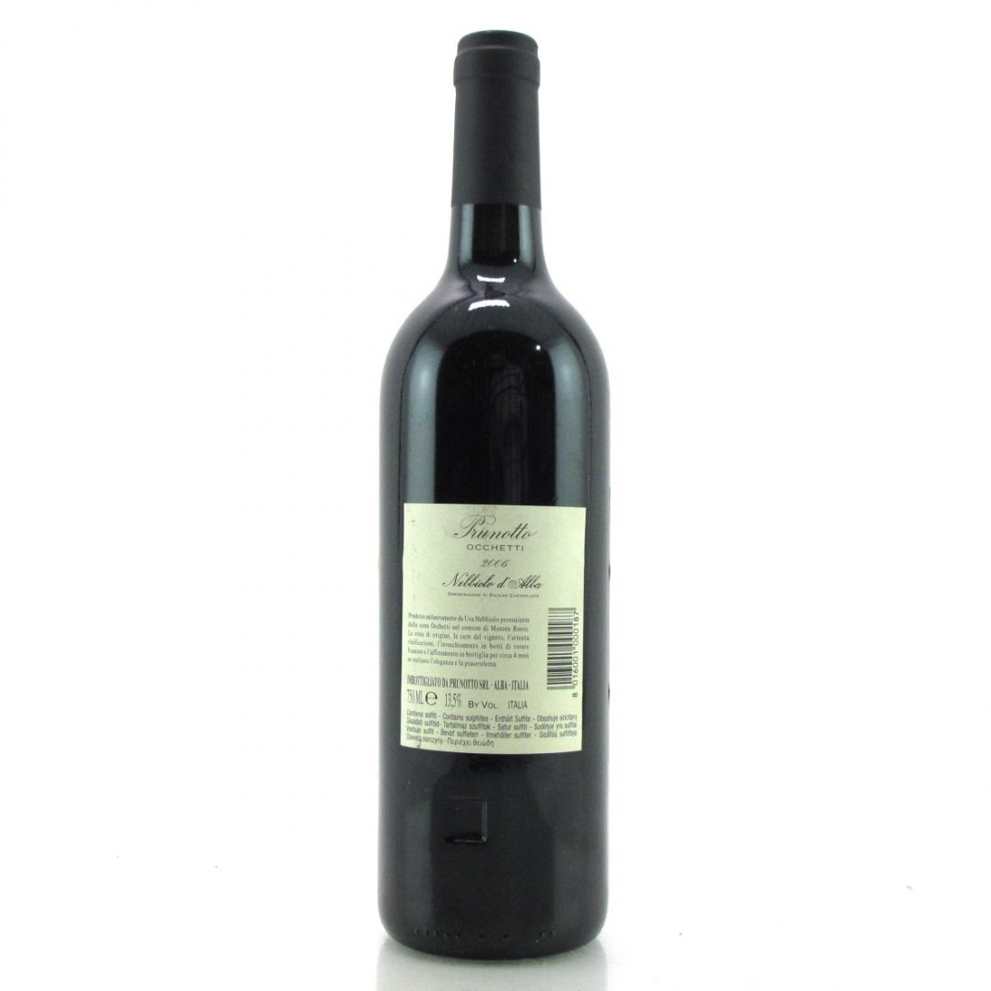 """Prunotto """"Occhetti"""" 2006 Nebbiolo d'Alba"""