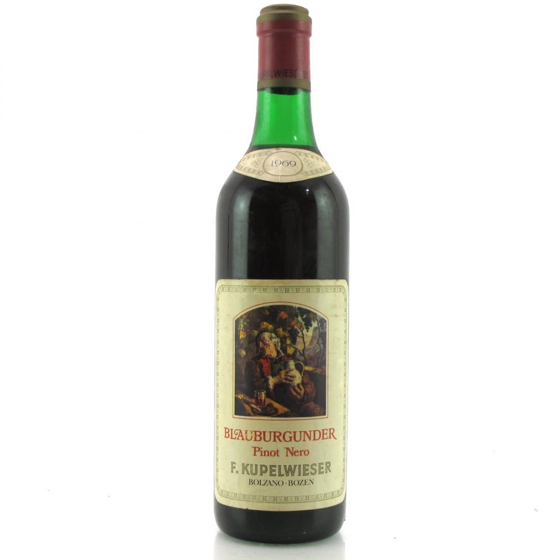 F.Kupelwieser Pinot Nero 1969 Alto Adige
