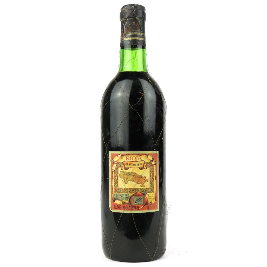 Gonzalo de Berceo 1970 Rioja Gran Reserva