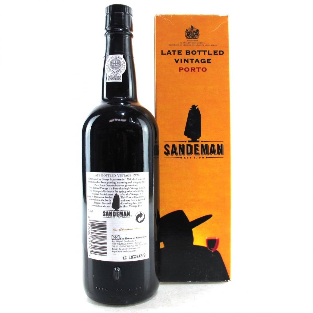 Sandeman's 1994 LBV Port