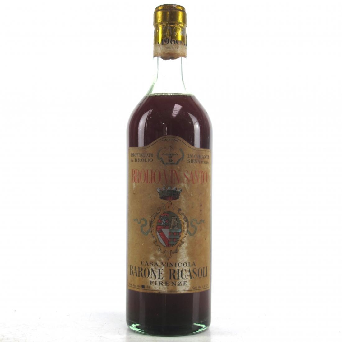 """Ricasoli """"Brolio"""" 1960 Vin Santo"""