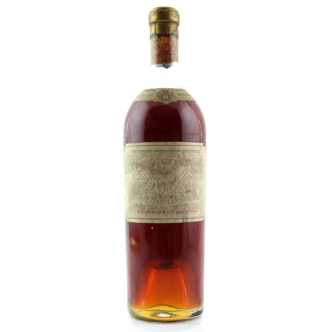 Ch. d'Yquem 1934 Sauternes 1er-Cru-Superior