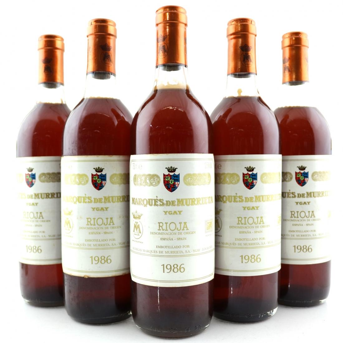 Marques De Murrieta 1986 Rioja Blanco Reserva 5x75cl