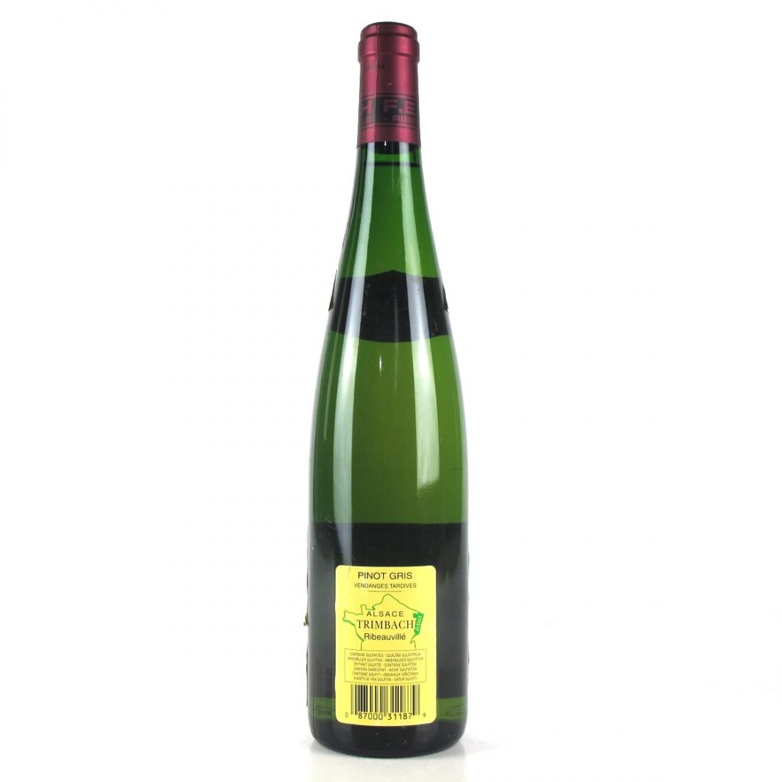 Trimbach Vendange Tardive Pinot Gris 2008 Alsace