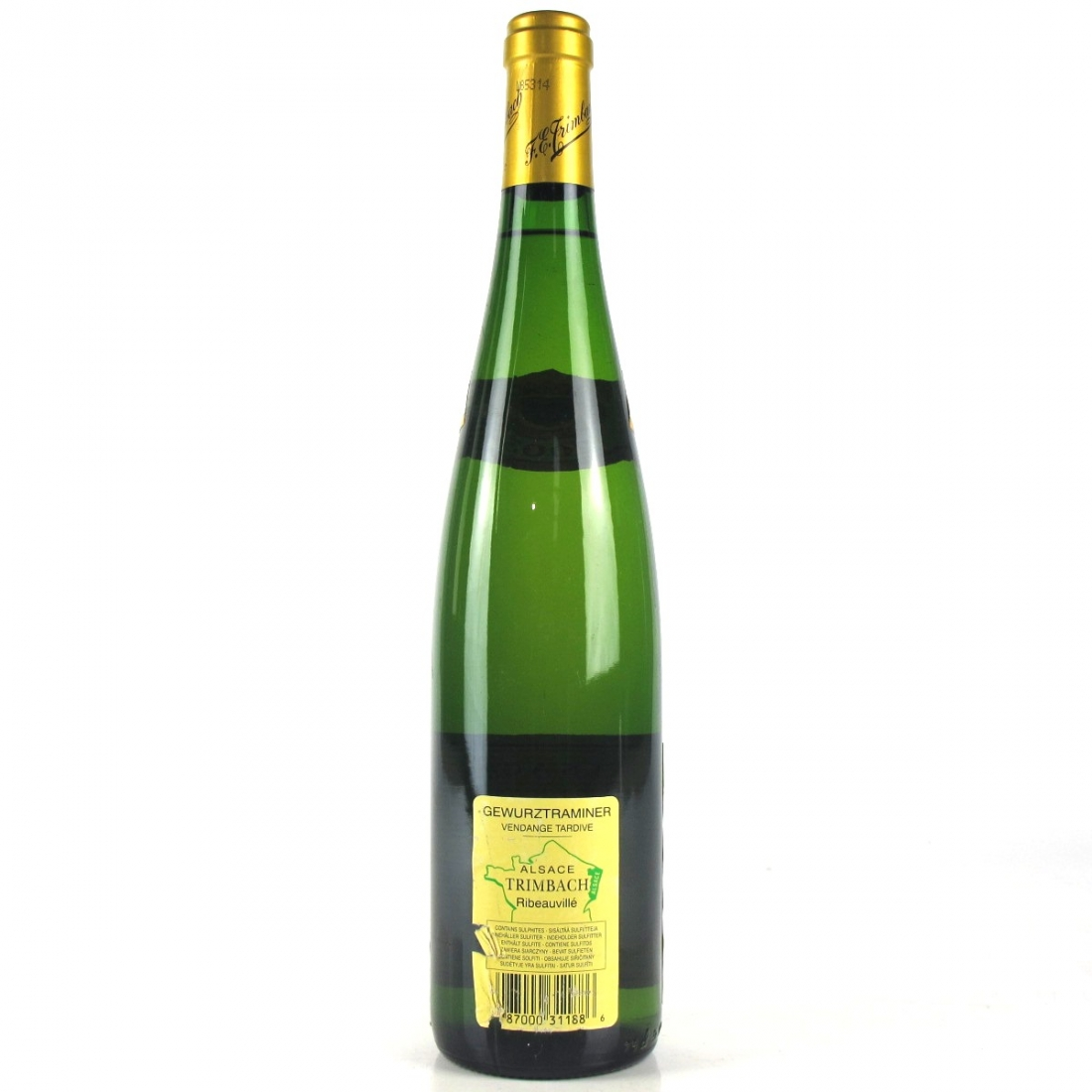 Trimbach Vendange Tardive Gewurztraminer 2003 Alsace