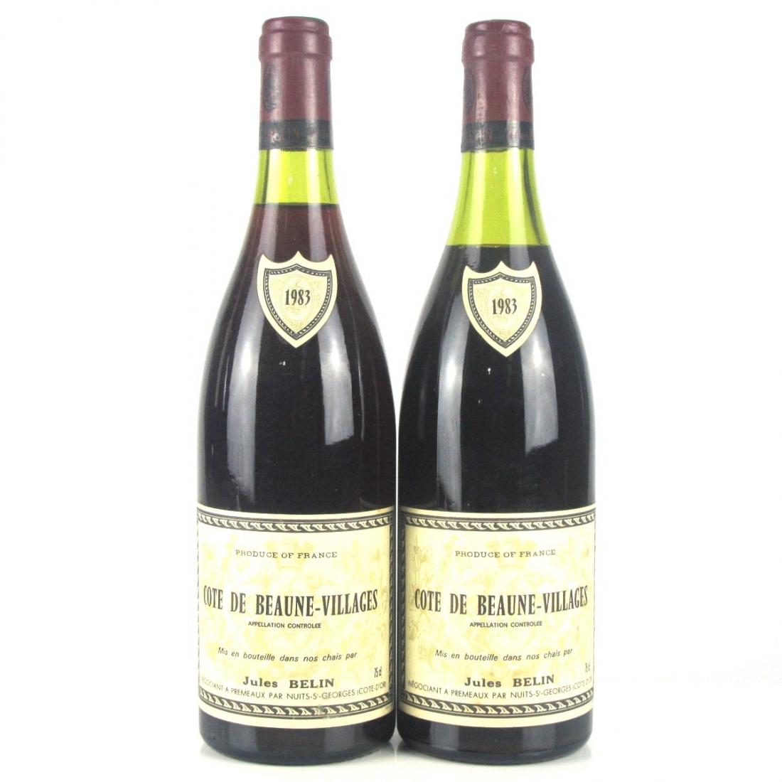 J.Belin 1983 Côte-de-Beaune-Villages 2x75cl