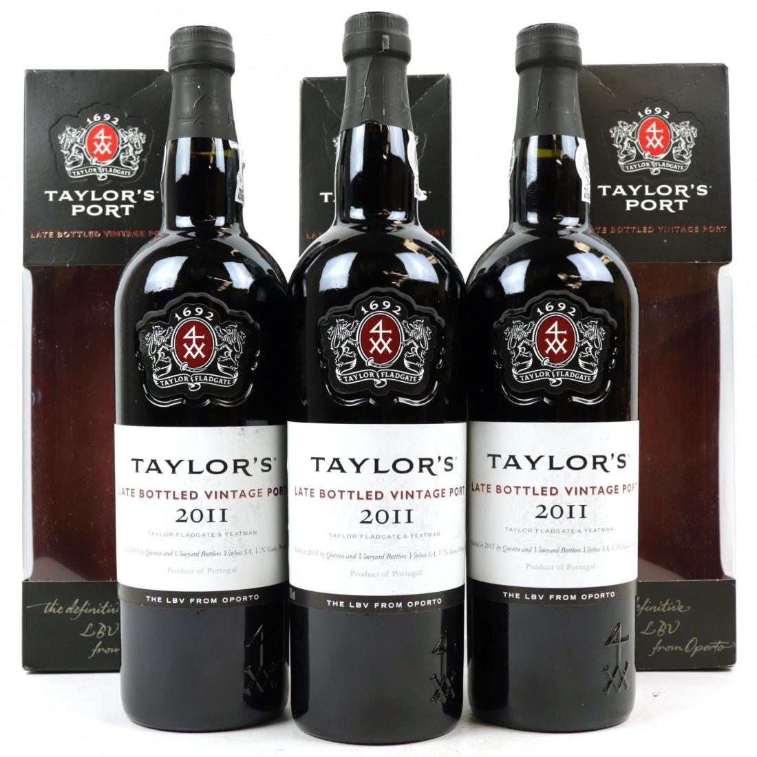 Taylors 2011 LBV Port 3x75cl