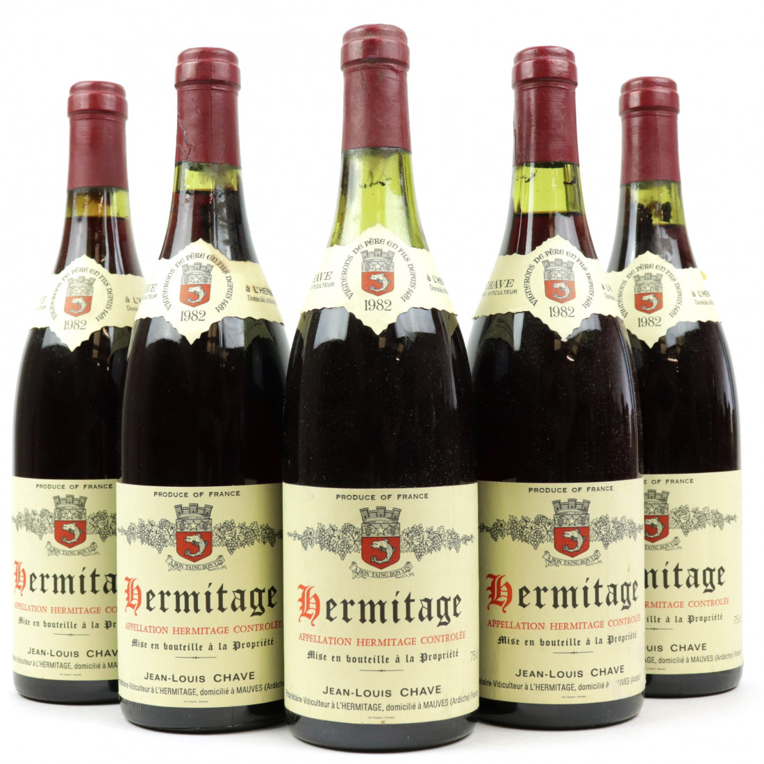 Dom. J.L.Chave 1982Hermitage 5x75cl