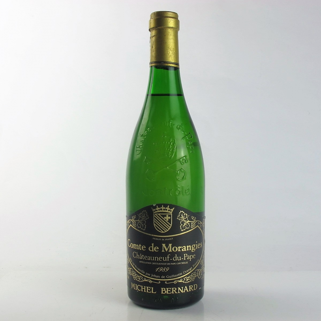 """M.Bernard """"Comte De Morangies"""" 1989 Chateauneuf-Du-Pape Blanc"""