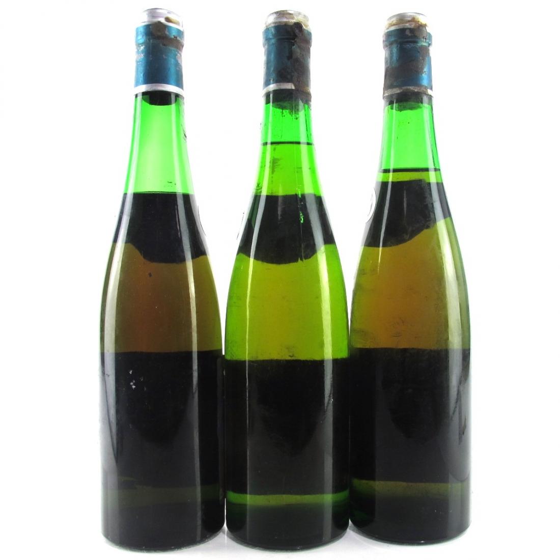 """F.Storck """"Trarbacher Schlossberg"""" Spatlese 1962 Mosel 3x Bottles"""