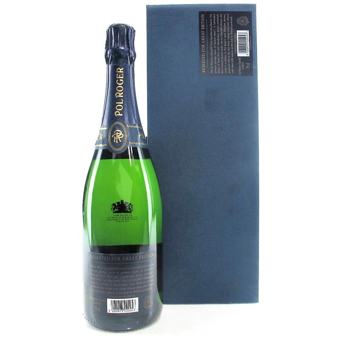 "Pol Roger ""Winston Churchill"" 2004 Vintage Champagne"